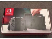 NINTENDO SWITCH GREY 32GB PAL BRAND NEW & SEALED 1 YEAR WARRANTY
