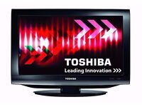 Toshiba combi LCD tv 19 inches