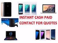 WANTED*- iphone 7 plus 6s plus iphone 6 samsung galaxy S8 PLUS S6 S7 edge macbook pro ipad air mini