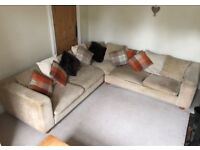 Extremely comfy large corner sofa for sale