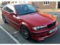 STUNNING IMOLA RED BMW E46 330i