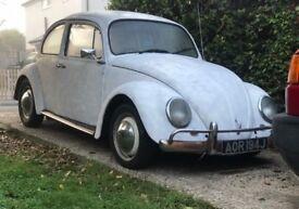 1971 Classic Volkswagen Beetle 1500 - MOT AND TAX EXEMPT