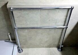 Ideal Standard Period Heated Towel Rail.