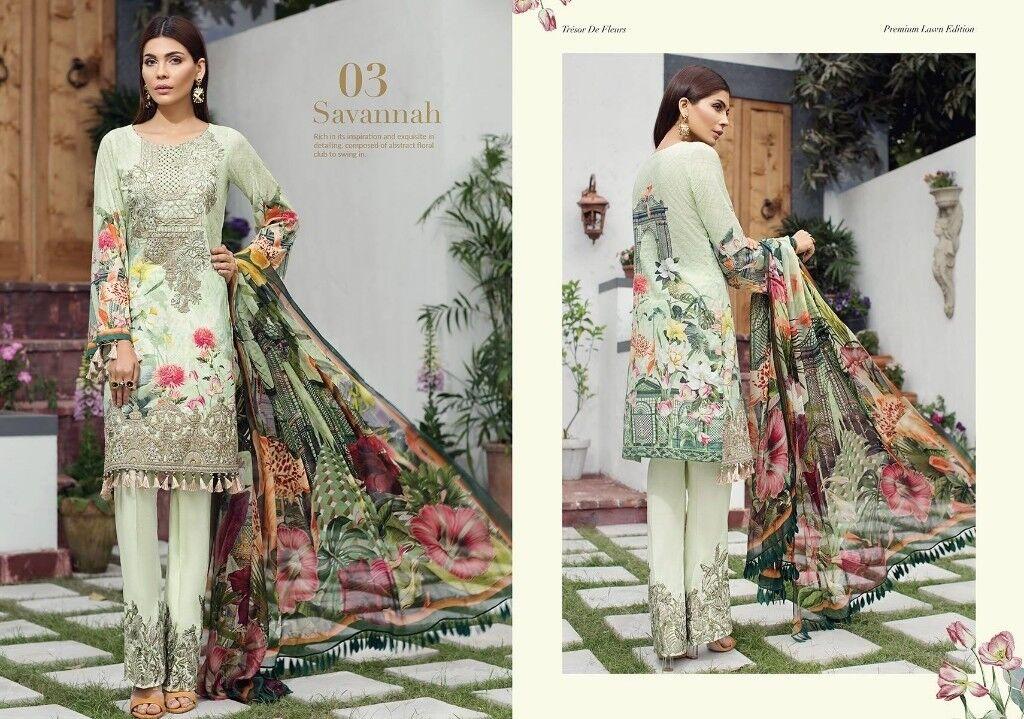 9ade36ed7a1 Gul ahmed 2018 lawn pakistani clothing asian shalwar kameez maria b hsy  stitched designer dress