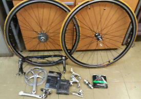 campagnolo record 10 speed groupset and mavic cpx33 wheelset delivery available