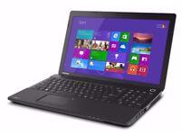 Toshiba C50/ INTEL i3 2.40 GHz/ 4 GB Ram/ 500 GB HDD/ HDMI / WEBCAM/ USB 3.0/ WINDOWS 8