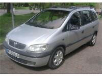 *BARGAIN*VAUXHALL ZAFIRA 2.0 DTI 2002 MANUAL MOT ENGINE IN VERY GOOD CONDITION 170K NO V5 QUICK SALE