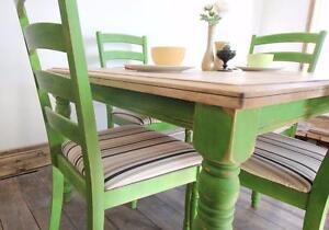 Table de salle à manger restaurée !