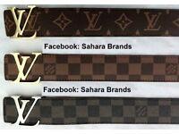 All Colour Louis Vuitton 2 for £45 Belt Lv Wallet £25 each