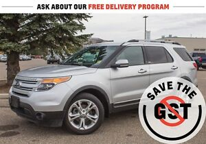 2013 Ford Explorer Limited *4WD *Leather *Bluetooth *Sirius XM