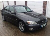 T-Z CARS PRESENT A 2002 LEXUS IS200 AUTO SALOON 1 OWNER PX TO CLEAR