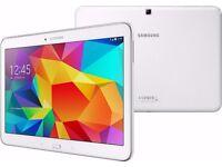 Samsung Galaxy Tab 4 SM-T535 10.1'' 16GB, 1.5GB Ram WiFi+4G LTE White