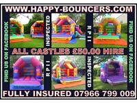 Happy-Bouncers, bouncy castle hire in the Stockport area