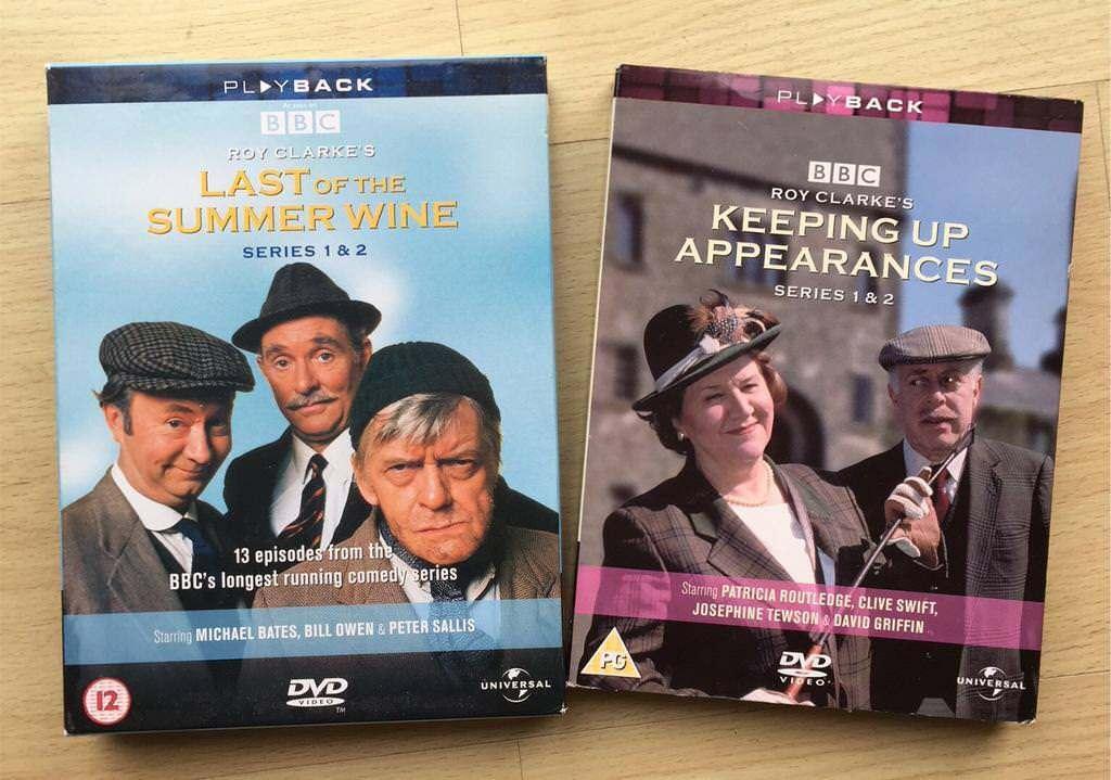 X2 Classic BBC comedy series on dvd