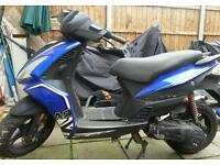 2014 ajs a9 125 scooter spares or repair