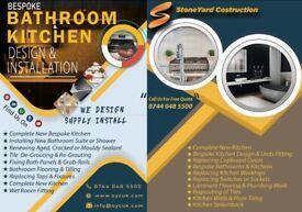 New Build, Loft Conversion, Extension, Renovation, Carpentry, Kitchen, Bathroom, CCTV Installation.