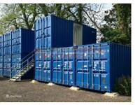 Fantastic 160 Sq Ft Shipping Container available to rent in London (W5)