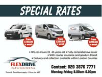 ********FLEX-DRIVE CAR AND VAN RENTAL LAUNCH COURIER VANS WITH INSURANCE******