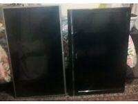 "2 TV,s. Sony Bravia & LG 40"", Spares or repair"