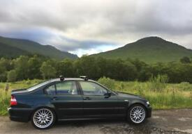 BMW E46 320i M Sport saloon Manual 92k Miles 2003/03 Reg MOT: Oct, 2018