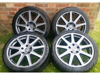 TTE Chicane Wheels Lexus IS200 IS300 Toyota Altezza Borbet