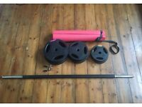 20KG Barbell Set ideal for body pump