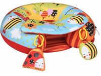 Red Kite - Garden Gang - Sit Me Up - Inflatable Ring with play tray - like new