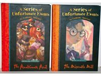 Lemony Snicket Hardback Books x 2