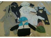 Boys clothes bundle 0-3 months - 9 pieces