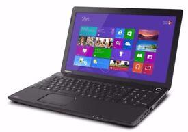 Toshiba C50/ INTEL i3 2.40 GHz/ 4 GB Ram/ 500 GB HDD/ HDMI / WEBCAM/ USB 3.0/ WIN 8