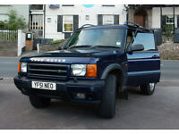 Land Rover Discovery 2 TD5 2002 Auto Estate. Dark Blue. MOT Nov. Genuine reason for sale