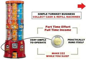 Vending Machine Business Opportunity / Be Your Own Boss - Work Less - Earn More!  / Vending Machines / Vending Business