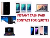 SELL -SAMSUNG GALAXY S8 & S8 + PLUS S6 S7 EDGE IPHONE 7 & 6S PLUS MACBOOK PRO TOUCH BAR IPAD PS4 VR