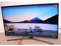 "SAMSUNG UE49KU6670U 49"" 4K ULTRA HD HDR SMART CURVE LED TV FREE VIEW HDMI LAN"
