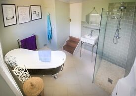 Boutique 1 bed flat to rent with monsoon shower