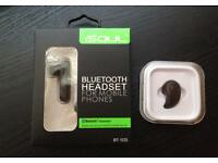 2 Brand New Small Bluetooth Earpieces