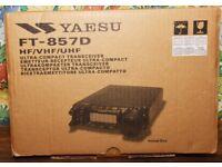 Brand new Yaesu FT-857D