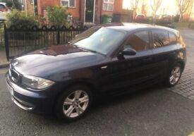 2008 BMW 118D Dark Blue £30 p/yr tax!