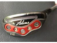 Adams Red Hybrid Golf Club