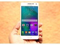 Unlocked Samsung Galaxy A3 Mobile Phone - White