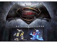 DC COMIC DESIGN TATTOO MACHINES BATMAN 10WRAP SHADER V SUPERMAN 8WRAP LINER UK