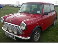 Rover Mini Mayfair 1993, Carb, Leather