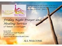 Prayer & Healing Service