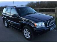 2004 JEEP GRAND CHEROKEE LPG 4.0 LIMITED EDITION PX