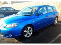 *reduced* 2004 Mazda 3 sport 2.0L - 70k miles MOT until may 17
