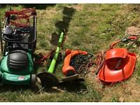 Lawn mowers and Trimers