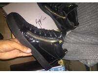 Giuseppe Zanotti Hightops uk9 suede leather