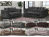 CHEAP Fabric or Leather sofas 3 + 2 or Corners, Quick Delivery Available High Quality Couches