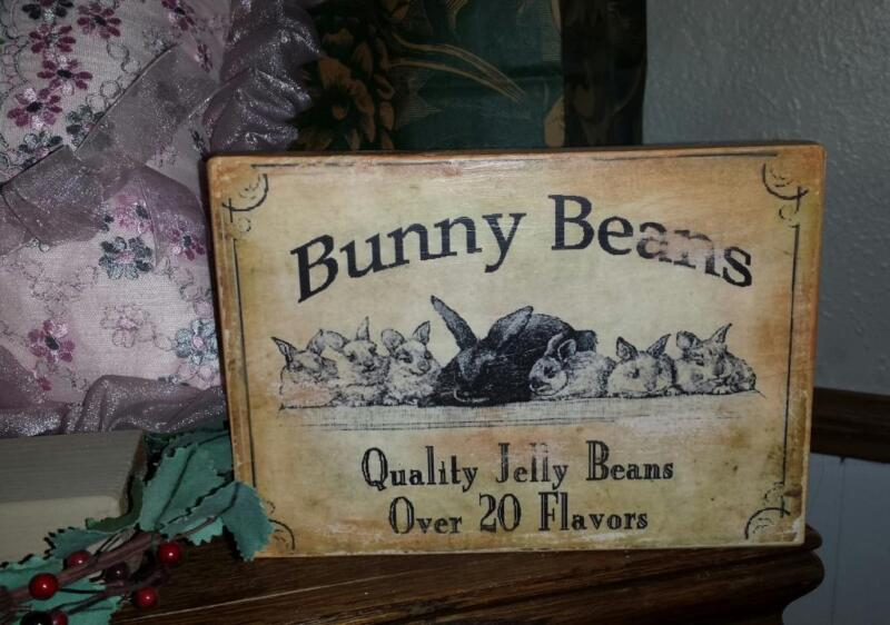 Primitive Easter Sign Vintage Advertising Labels Shabby Distressed You Choose