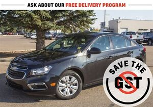 2015 Chevrolet Cruze LT w/1LT *Turbocharged *Bluetooth *Sirius X